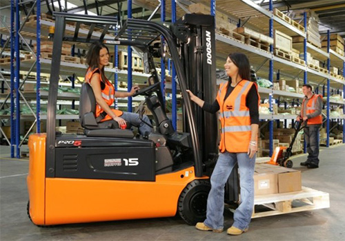 Fork Lift Students