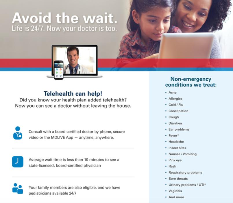 EMPLOYEE TELEHEALTH INFO