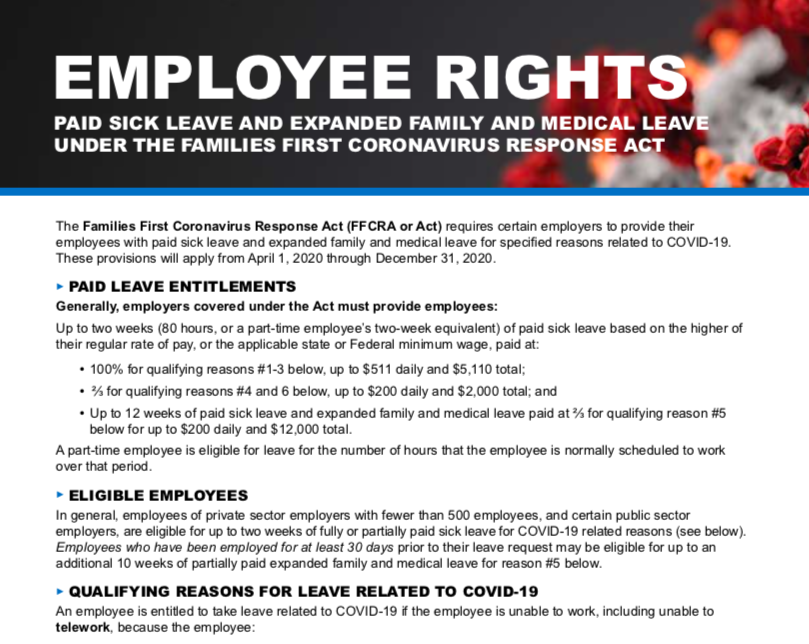 Employee Rights – Click to Enlarge